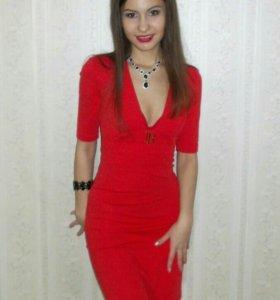 Платье вечернее xs