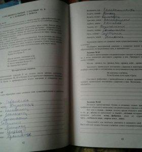 Рабочая тетрадь по Русскому языку. 6 класс.