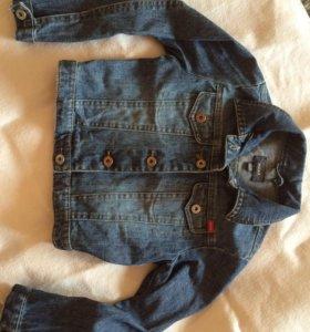 Бронь. Джинсовая куртка Mexx 110/116