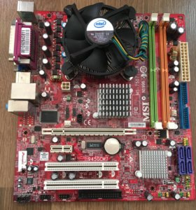 MSI 945GMC7 + intel Core 2Duo E2160 1,8Ghz