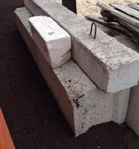 Блоки фундаментные и перемычка