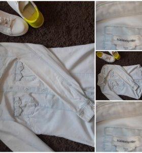 Джинсовая рубашка НМ