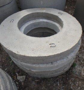 Железобетонные крышки на кольца