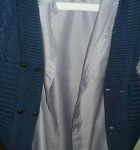 Рубашка+кофта мал.8 лет