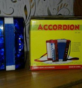 Игрушка детский аккордеон