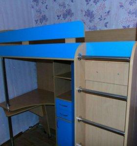 Кровать 3 в 1 для детей от 3х лет