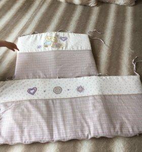 Бортики на кроватку.