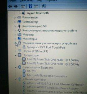 Нетбук Asus Eee PC 1008ha на запчасти