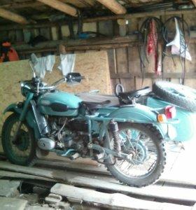 Урал. Мотоцикл