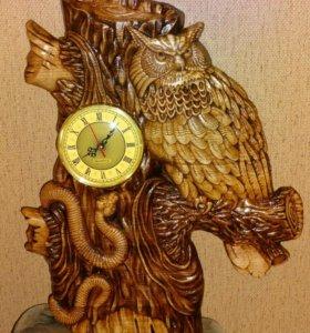 Часы филин.50 см на 40 см.