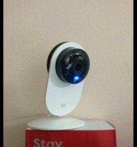 YI 720 P Smart HD Wi-Fi Ip-камера с ночным виденье