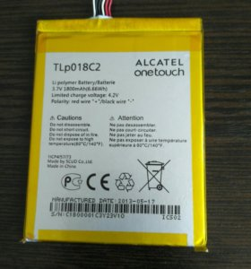 Аккумулятор Alcatel Onetouch TLp018C2