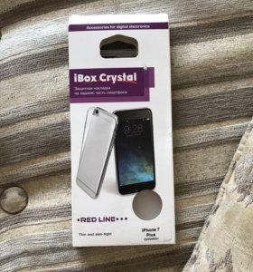 Чехол обычный силиконовый для iPhone 7plus