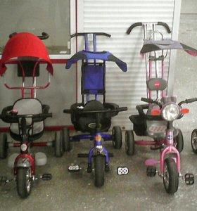 Много велосипедов