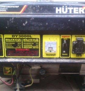 HUTER бензогенератор