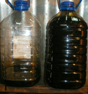 Продам отработку, дизельное масло, автол, дикстрон