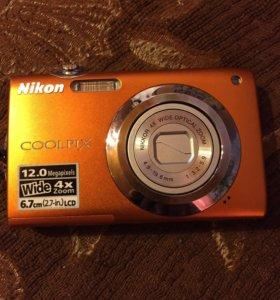 Цифровой фотоаппарат Nikon COOLPIX S3000