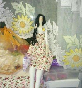 Куклы в стиле тильда
