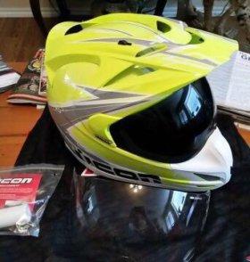Шлем ICON Variant Salvo Hi-Viz Helmet