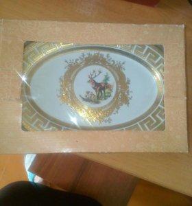 Новое большая тарелка версачи