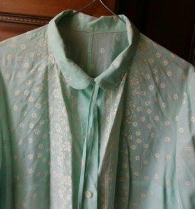 Новая блузка  хлопок   44-46