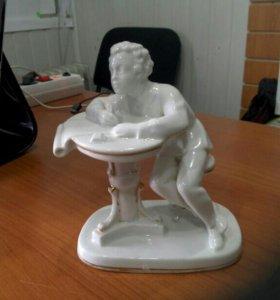 Статуэтка Пушкин фарфор ЛФЗ