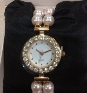 Часы женские«Розовый жемчуг»