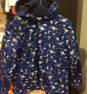 Куртка парка на байке дождевик