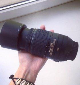 Объектив Nikon 55-300mm f/4.5-5.6GVR + сумка-чехол
