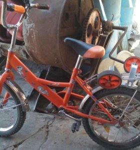 Велосипед детский от 4лет