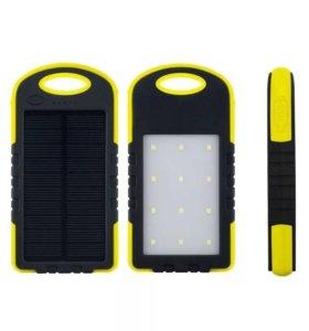 Заряжайся от солнца вместе с Power-bank Solar