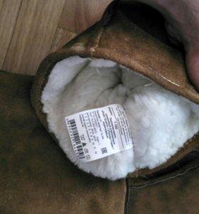Перчатки краги замшевые (спилковые)