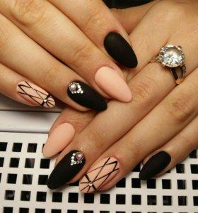 💅 наращивание ногтей