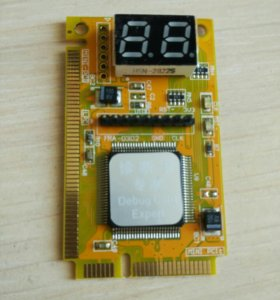 Post Card 3 в 1 (mini PCI, mini PCI-E, LPC шина)
