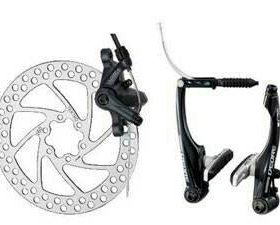 Регулировка велосипедных тормозов