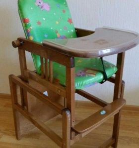 Детский стульчик для кормления и не только