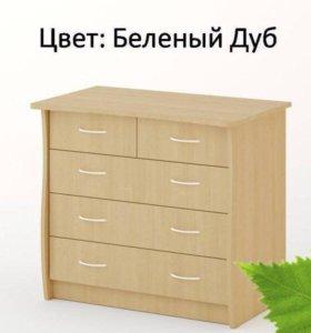 Комод КМ-03 Береза Мебель