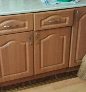 Кухонный гарнитур угловой б/у с мойкой