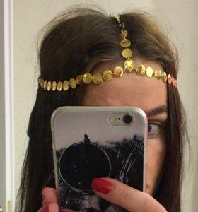 Аксессуар для волос, ободок, повязка новый