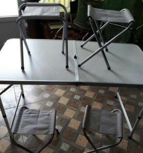 Столик со стульями на природу,рыбалку