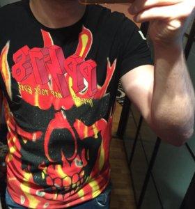 Новая мужская футболка Philipp Plein