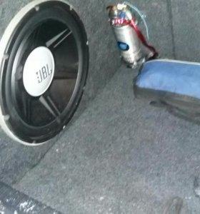 Caб JBL 1500W 15 ДЮЙМОВ  +накопитель на 2фаратт