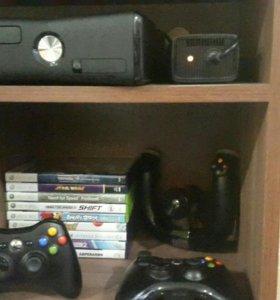 Xbox 360 + 9 дисков