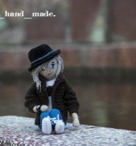 Авторская  кукла ручной работы (амигуруми)
