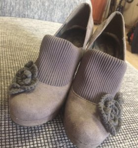 Демисезонные туфли-ботинки