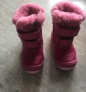 Детские ботиночки 20 размер
