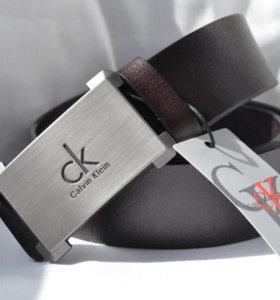 Ремень коричневый Calvin Klein