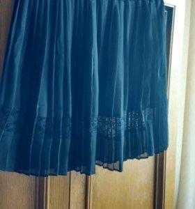 Новая юбка плессированная