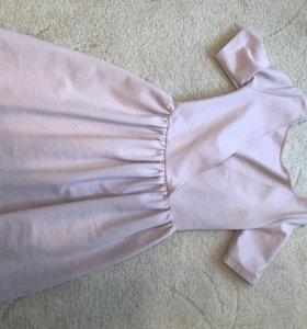 Платье , пастельно розового цвета