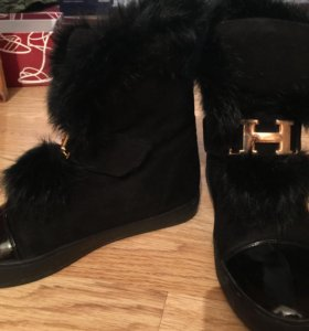 Зимние ботиночки Hermes